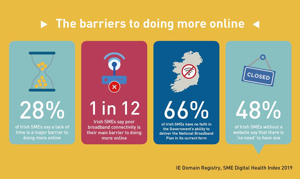 .IE - SME Digital Health Index 2019 - Barriers to digital