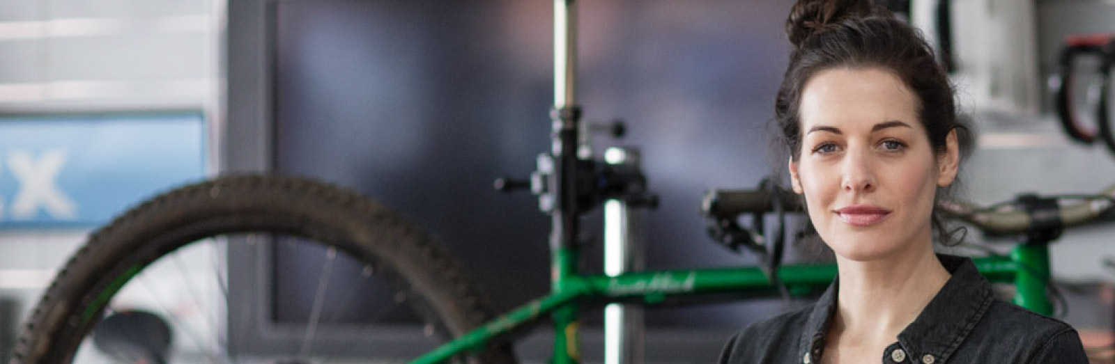 Bike shop SME owner / Using your .ie