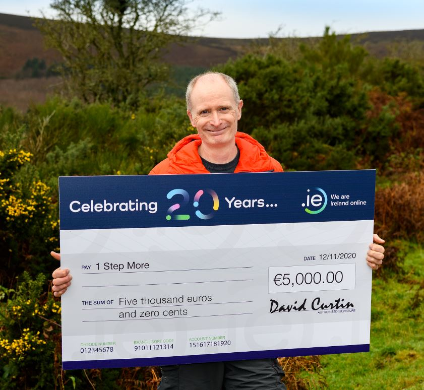 1 Step More wins €5K in .IE 20th Anniversary Competition