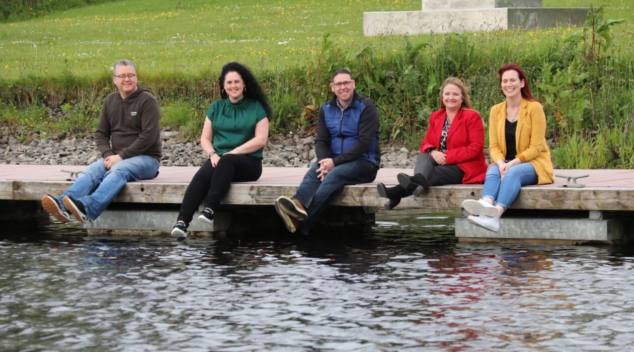 Ballinasloe lake .IE Digital Town Awards Winners and Runners-up