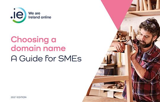 .IE | Choosing a domain name e-book cover small