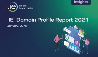 .IE Domain Profile Report H1 2021 cover/ rise in web addresses