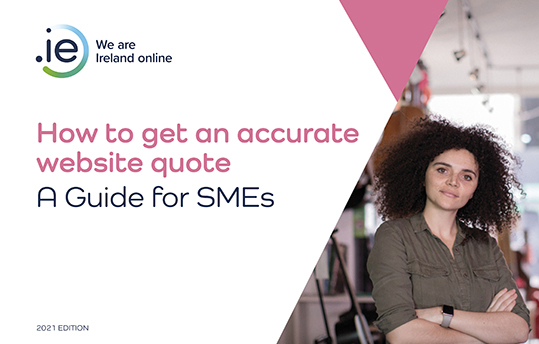 .IE | Website costs - how much should you pay? e-book cover small