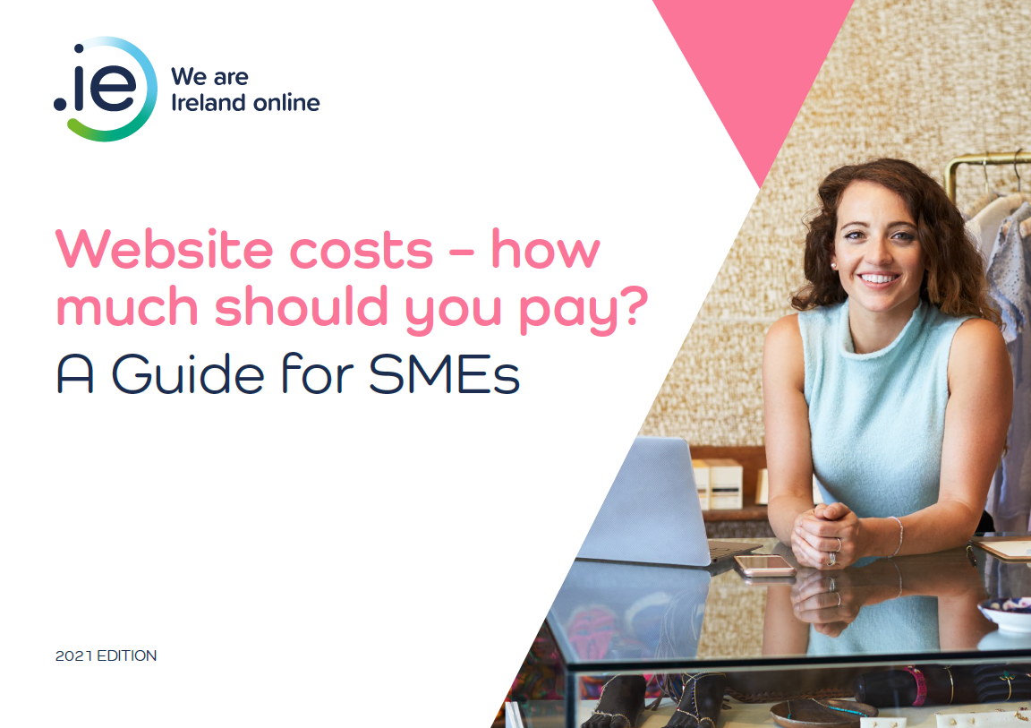 .IE   Website costs - how much should you pay? e-book cover